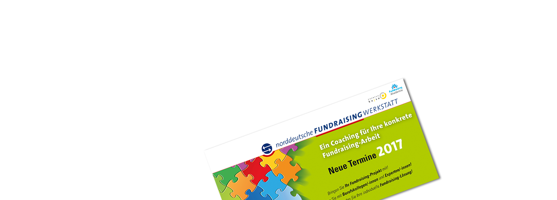 Norddeutsche Fundraisingwerkstatt 2017