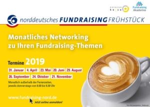 Fundraising-Frühstück Flyer 2019