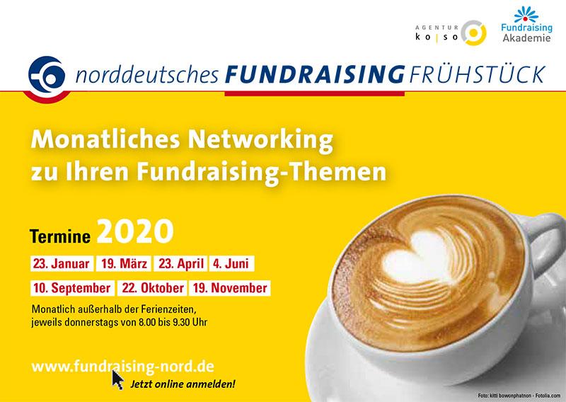 Fundraising-Frühstück Flyer 2020